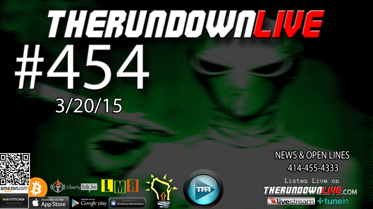 The Rundown Live #454 Open Lines (The Lost Episode)