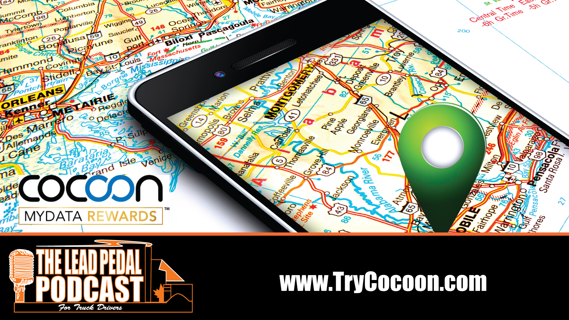 Cocoon More Money as a Truck Driver with Cocoon My Data Rewards