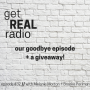 Artwork for episode #32: our goodbye episode + a giveaway!