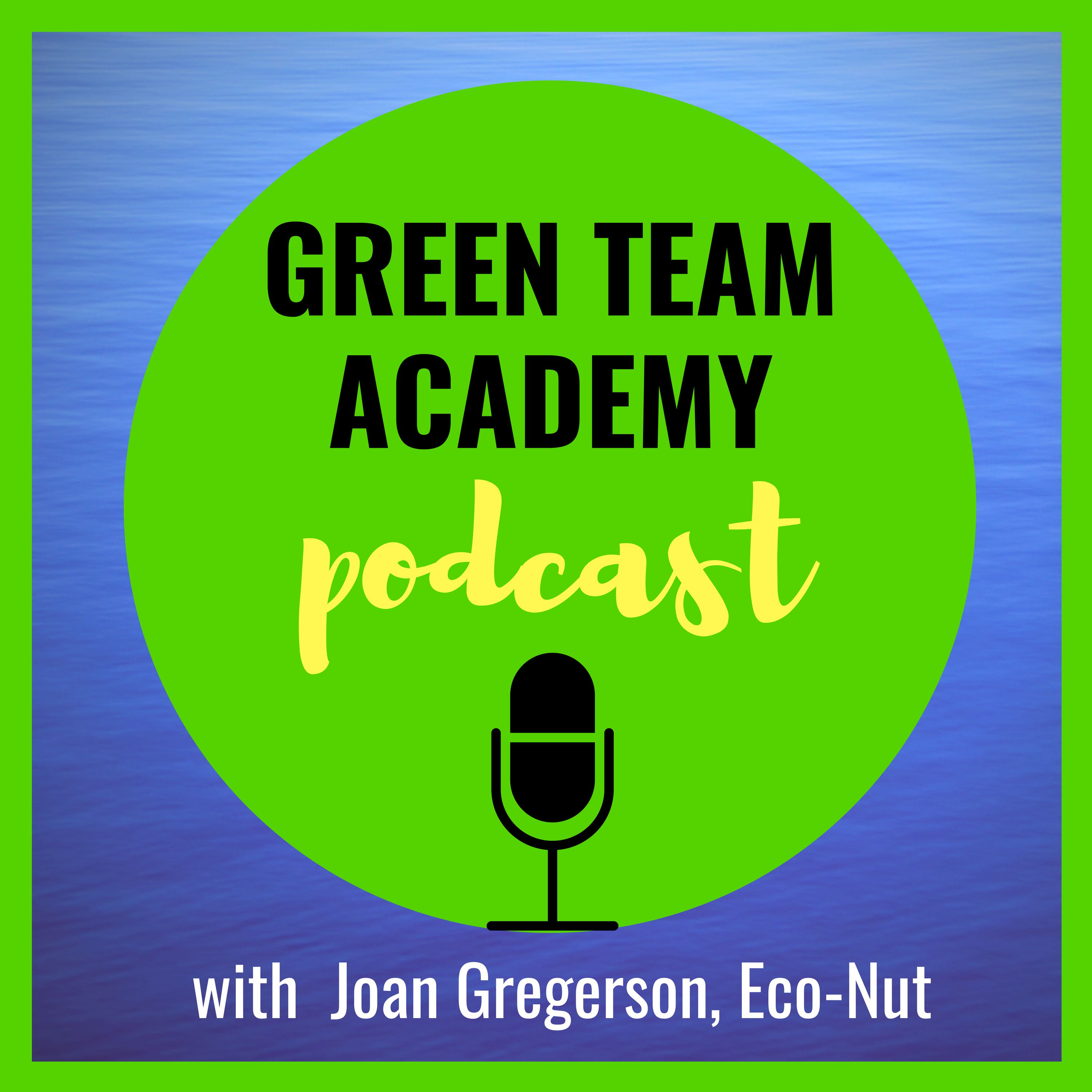 Green Team Academy with Joan Gregerson, Eco-Nut show art