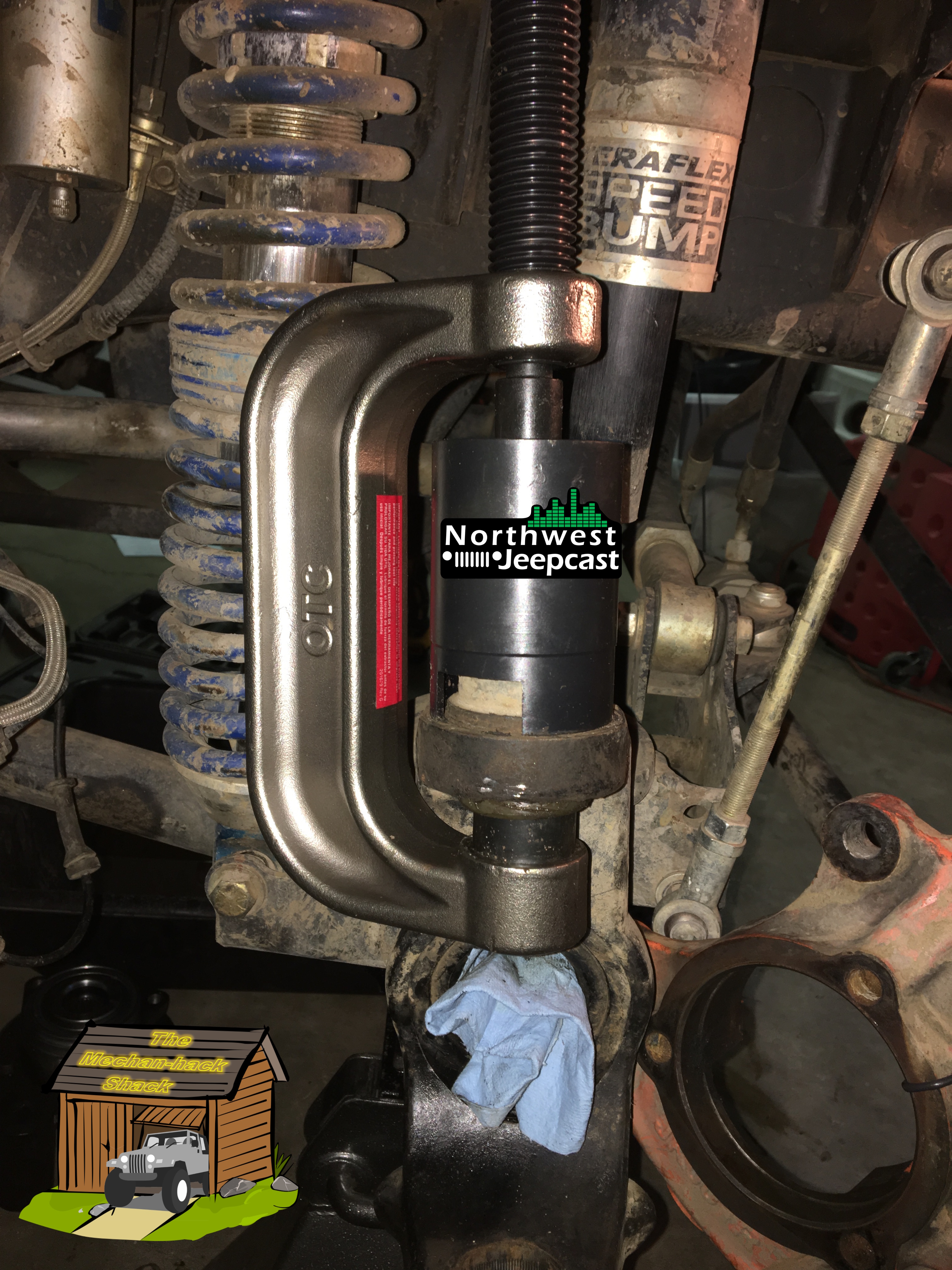 Northwest Jeepcast - Jeep Podcast - Dynatrac Ball Joint installation