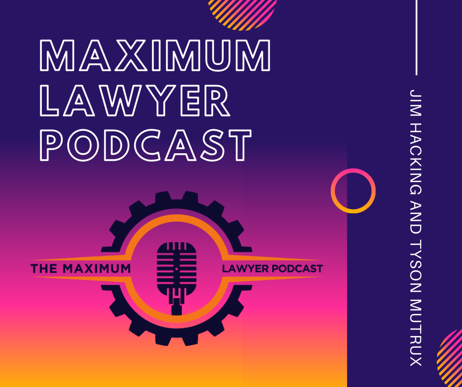 The Maximum Lawyer Podcast show art