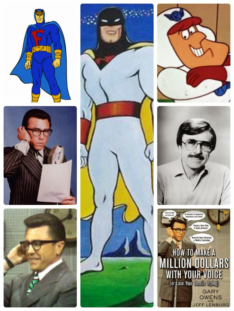 Back in Toons-Gary Owens Tribute w/Space ghost Roger Ramjet & Blue Falcon