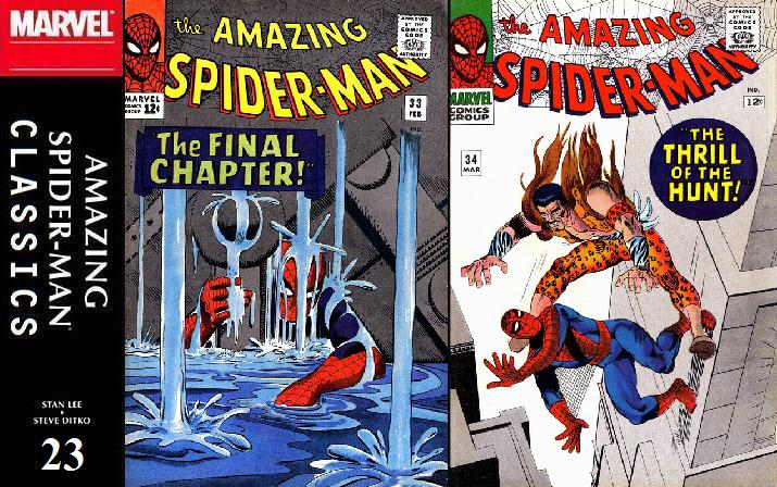 023 ASM Classics - Amazing Spider-Man 33 and 34