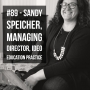Artwork for #89 - Design Thinking in Ed with Sandy Speicher, Ideo Education