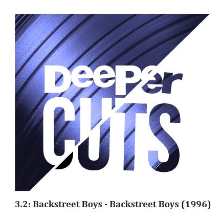 3.2: Backstreet Boys - Backstreet Boys (1997) show art