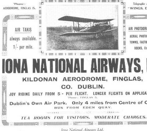 Aer Finglas: The Early Days of Irish Aviation