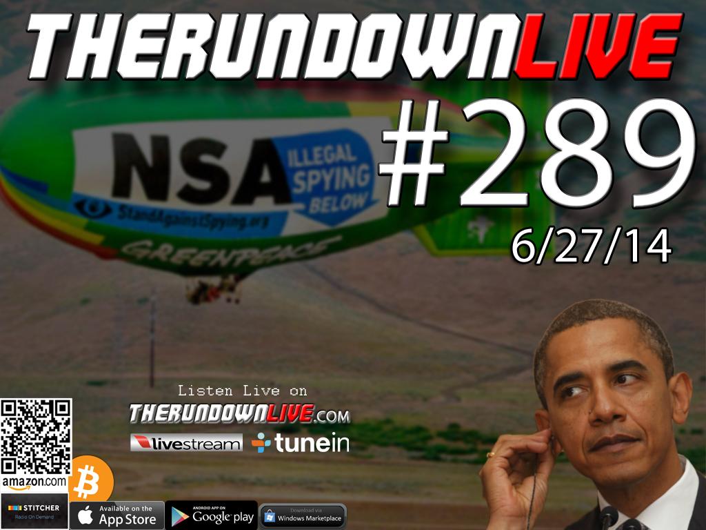 The Rundown Live #289 Open Lines (14th Amendment,Masons,Anarchy)