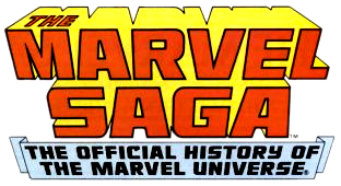 Artwork for Marvel Saga Issue 5 – Terror in the Skies!
