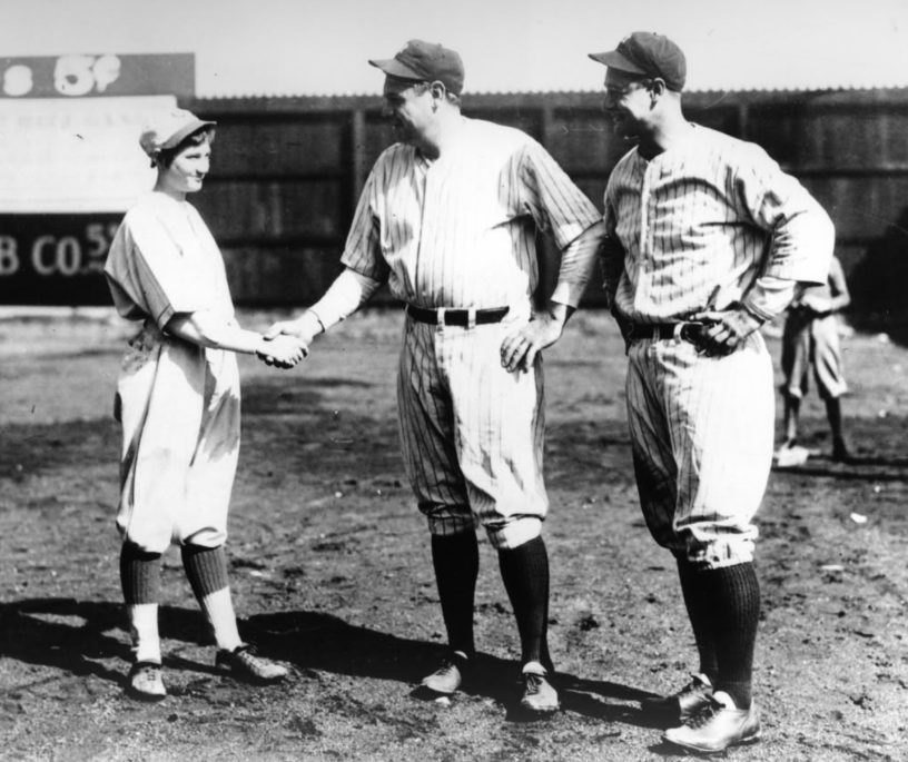 192 - Jackie Mitchell and Babe Ruth
