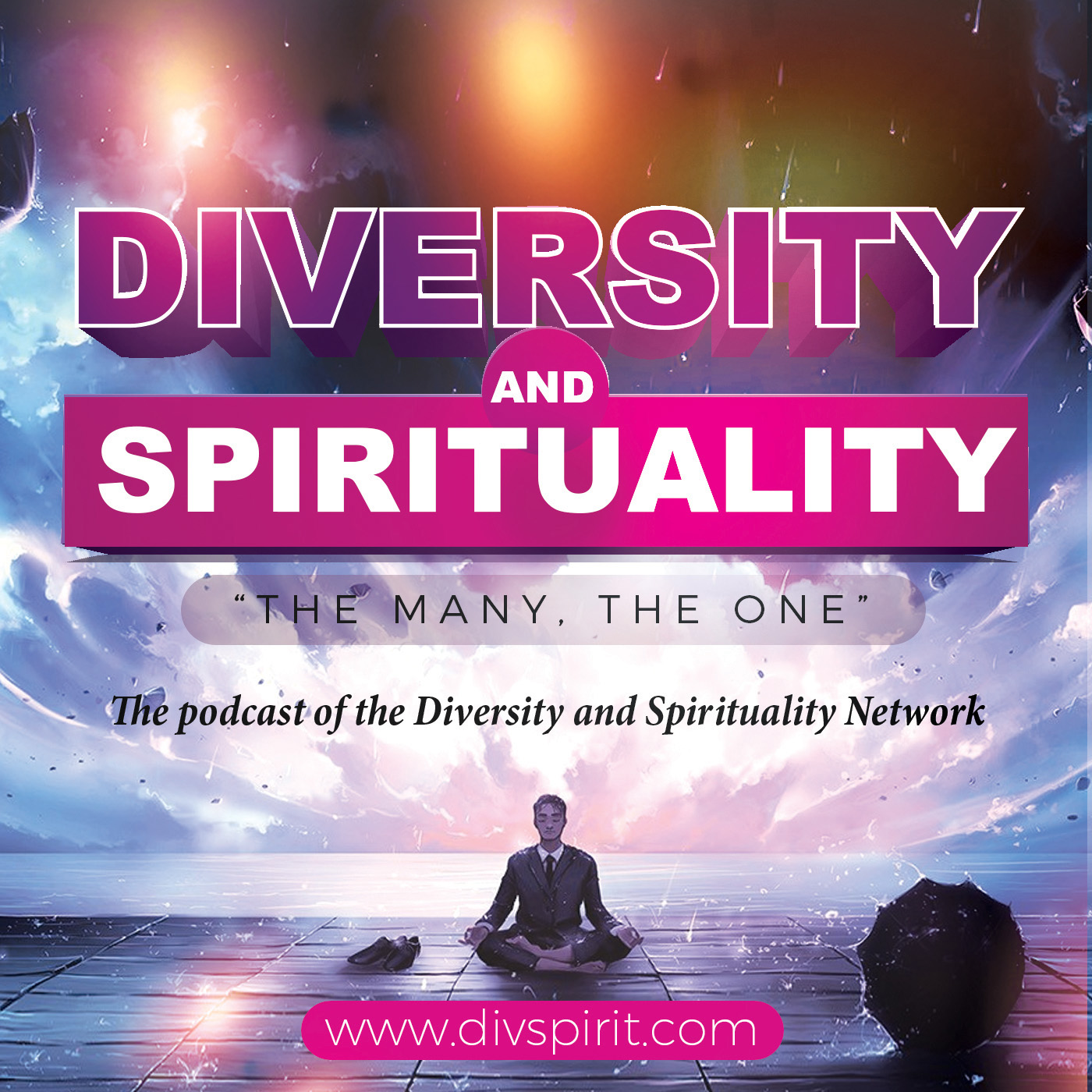 The podcast of the Diversity and Spirituality Network show art