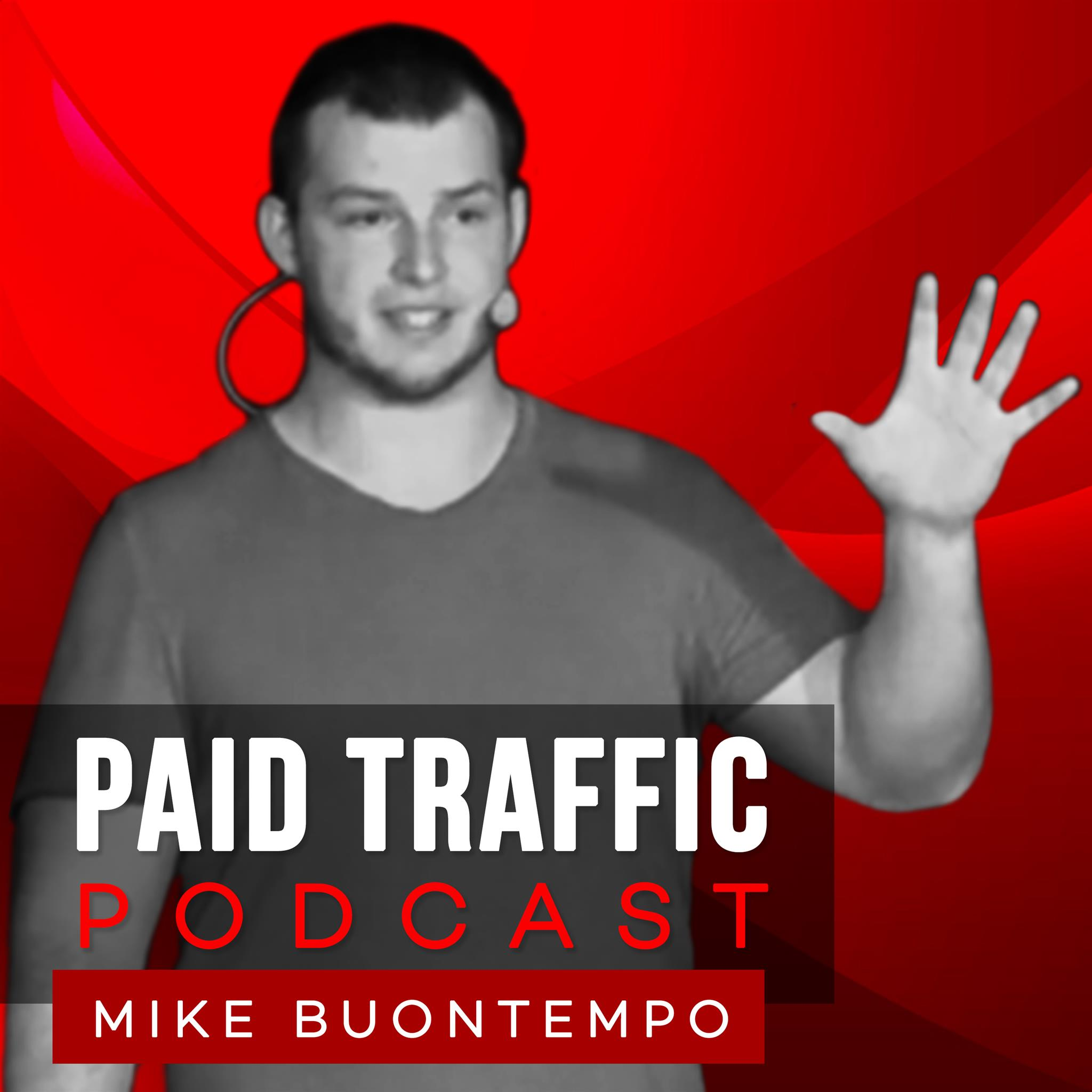 The Paid Traffic Podcast show art