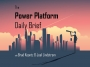 Artwork for Power Platform Daily Brief: April 16, 2019