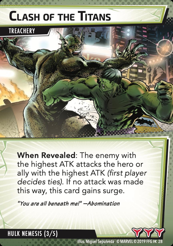 Hulk Nemesis - Clash of the Titans