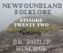 Artwork for Ep 022 Newfoundland Folklore (Dr. Philip Hiscock)