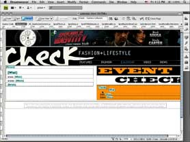 Check out the New Live Browser View in Dreamweaver CS4