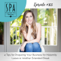 Artwork for SMME #105 4 Tips for Preparing Your Business for Maternity Leave