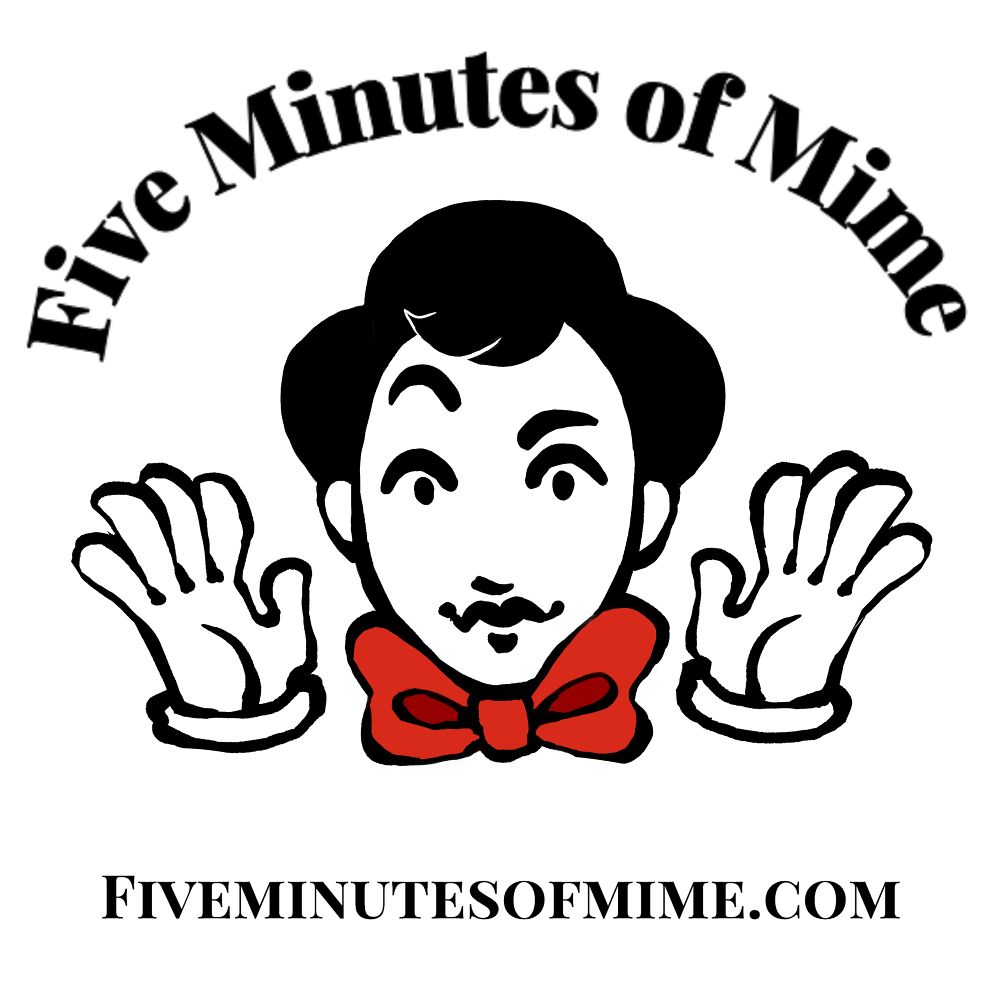 Five Minutes of Mime show art