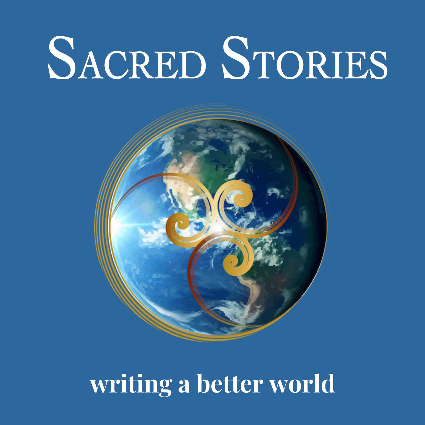 SacredStories Podcast show art