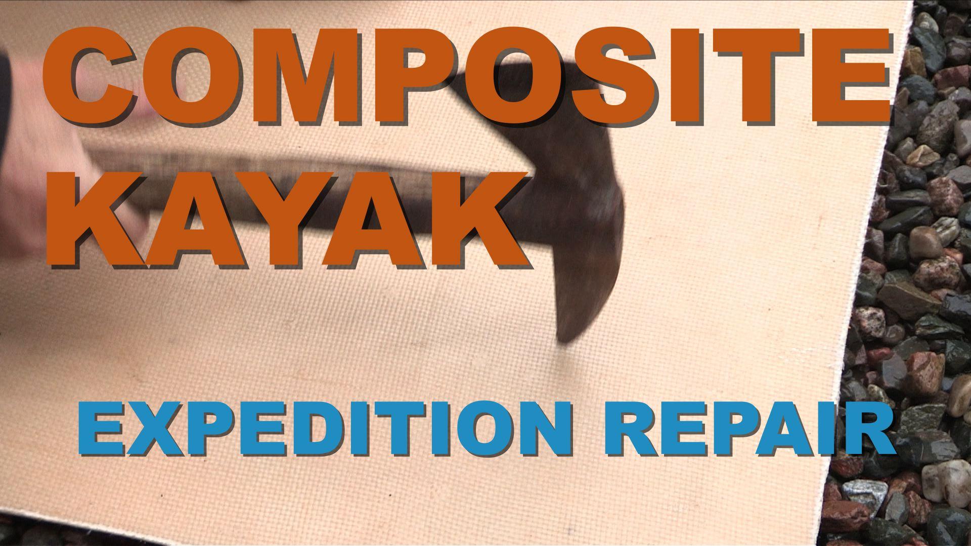 Artwork for Composite Kayak Expedition Repair