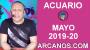 Artwork for HOROSCOPO ACUARIO-Semana 2019-20-Del 12 al 18 de mayo de 2019-ARCANOS.COM...