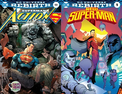 Rebirth: Action Comics 959 and New Super-Man 1