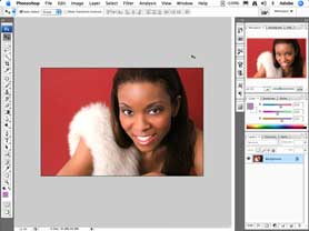 Photoshop CS3 add a spotlight to your images