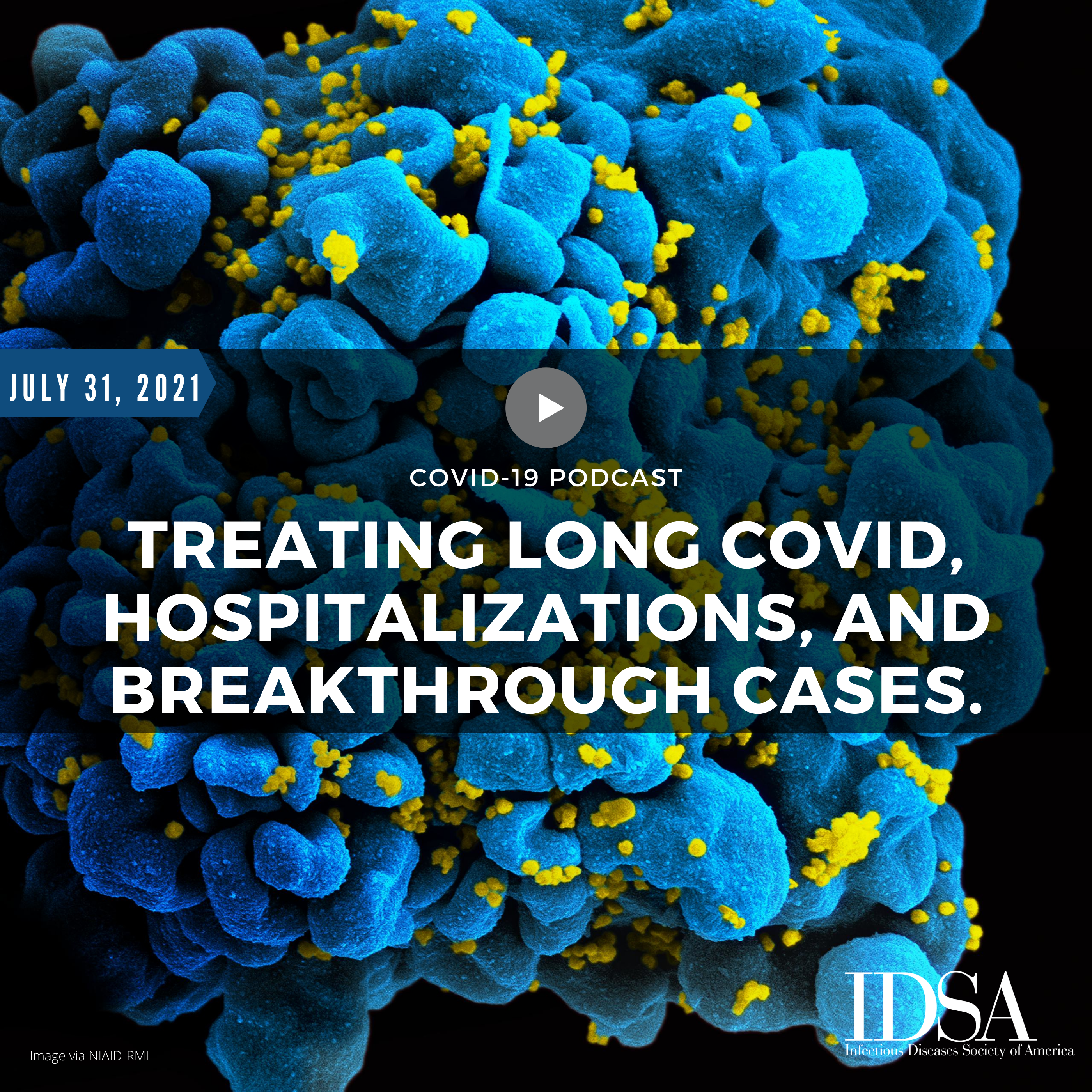 Treating Long Covid, Hospitalizations, and Breakthrough Cases (July 31, 2021)