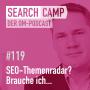 Artwork for SEO-Themenradar: Brauche ich … AMP, PWA, Voice Search & Co.? [Search Camp Episode 119]