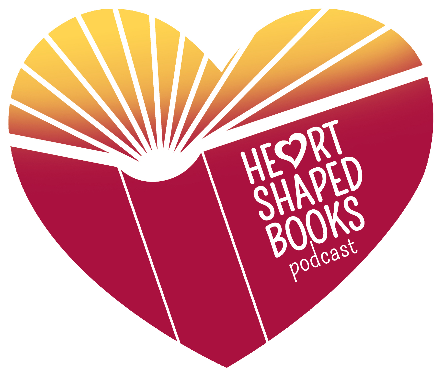 The Heart-Shaped Books Podcast show art
