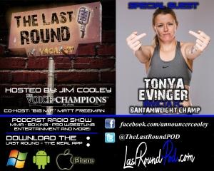 TLR #22 Tonya Evinger - INVICTAFC Champ