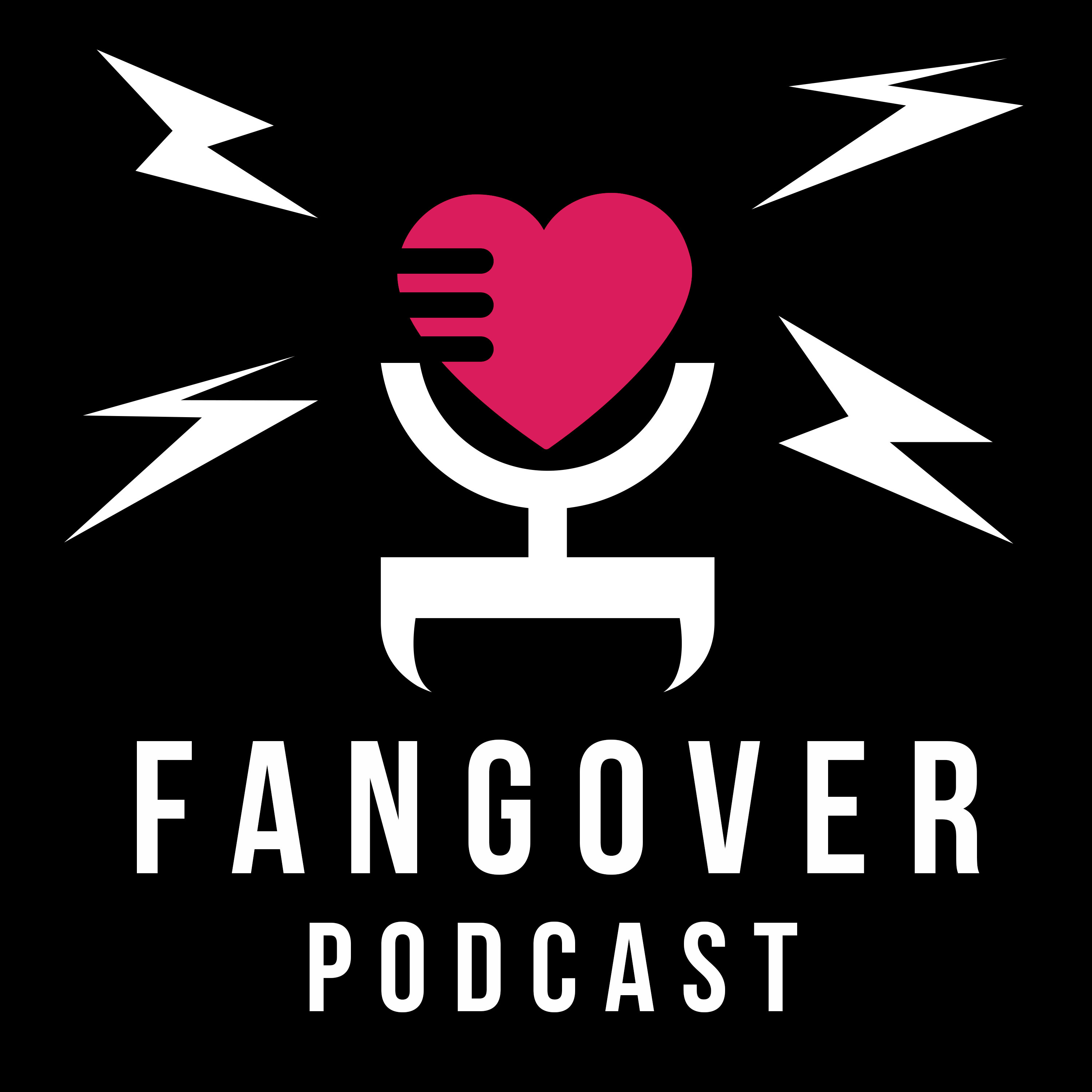 The Fangover Podcast show art