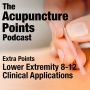 Artwork for Extra Points, Lower Extremity 8-12, Acupuncture Points and Clinical Applications
