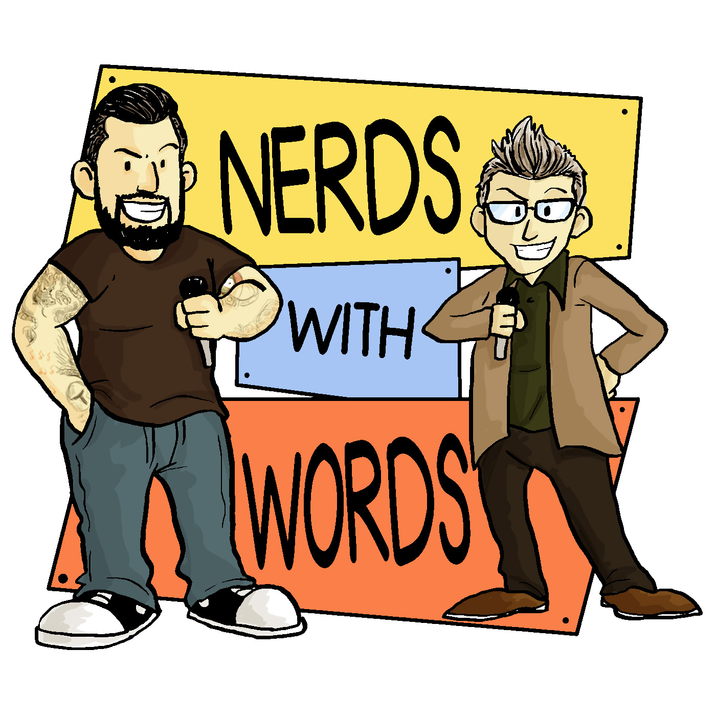Nerds With Words logo