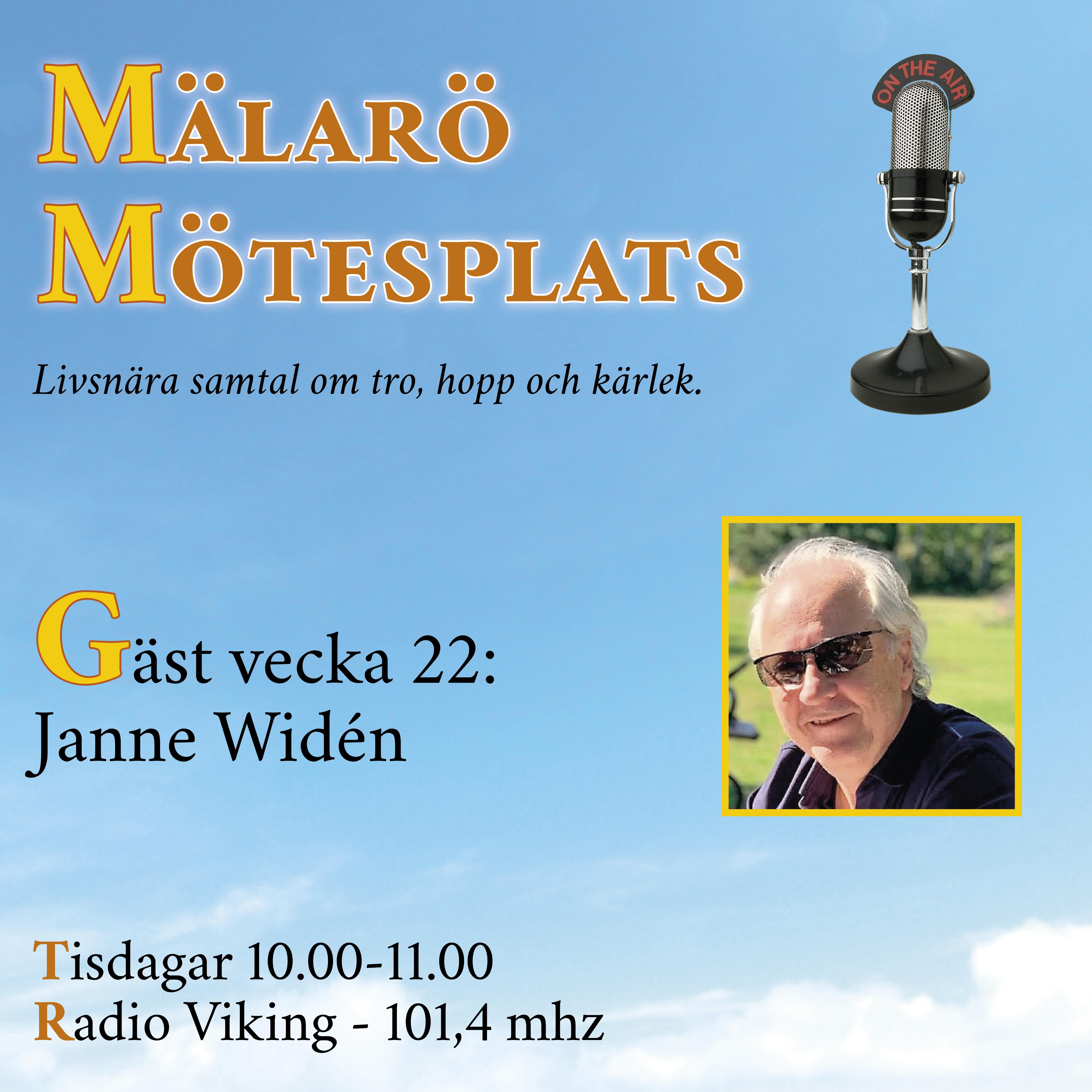 Möte med Janne Widén