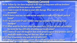 Ask Dr. Doreen - July 31st, 2013