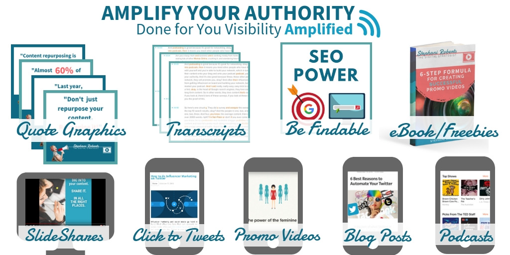 Amplify Your Authority with Strategic Content Repurposing and Podcast Appearances