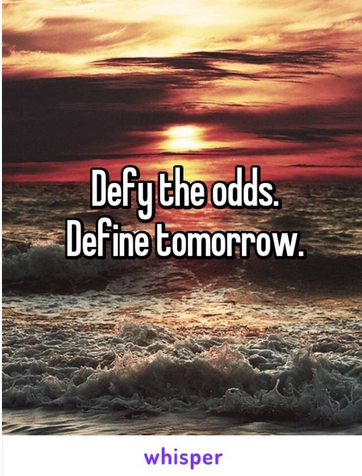 Defy the odds