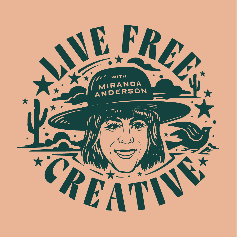 Live Free Creative show art
