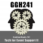 Artwork for GGH 241: Tech for Event Support II