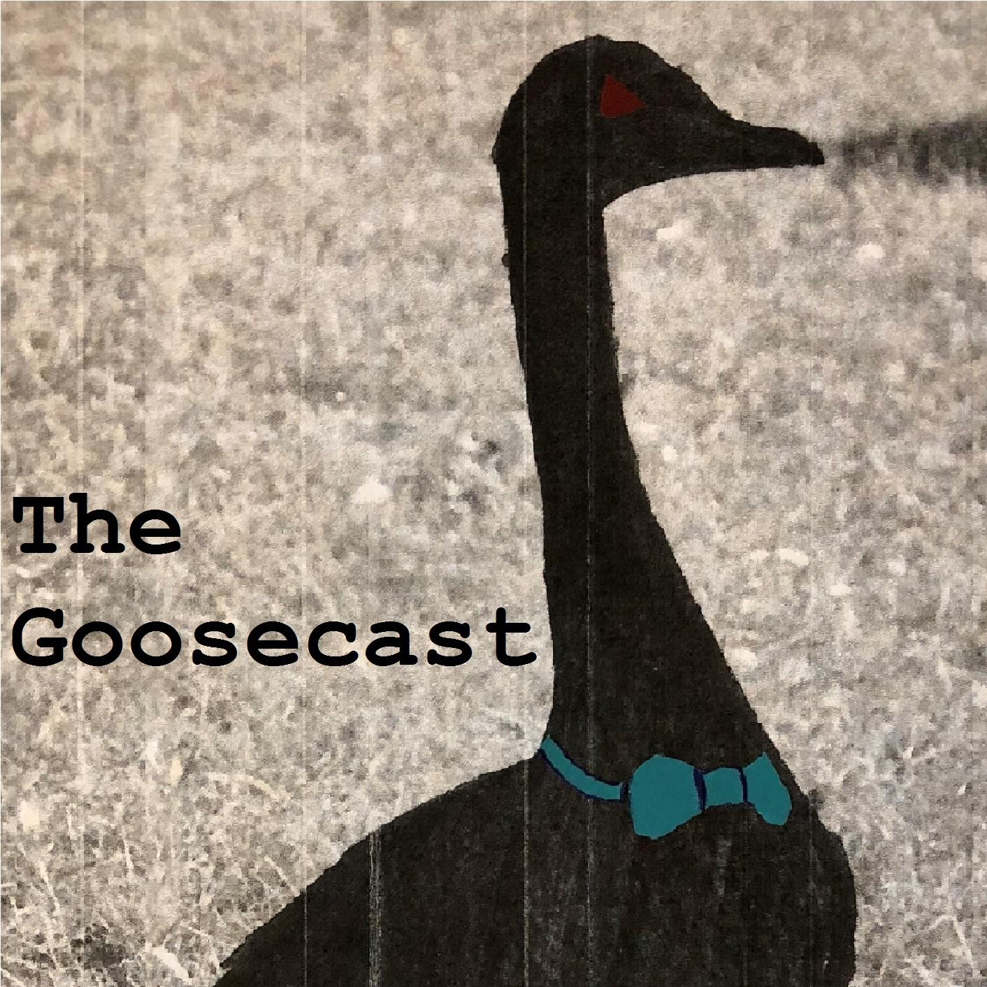 The Goosecast show art