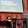 Artwork for Neuroordförande medverkade på första historiska Patientriksdagen i Sverige