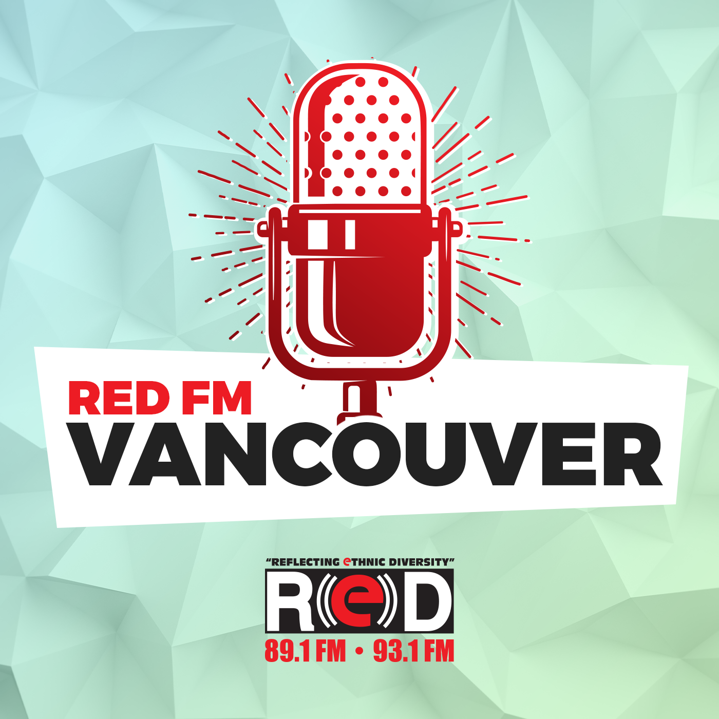 RED FM Vancouver show art