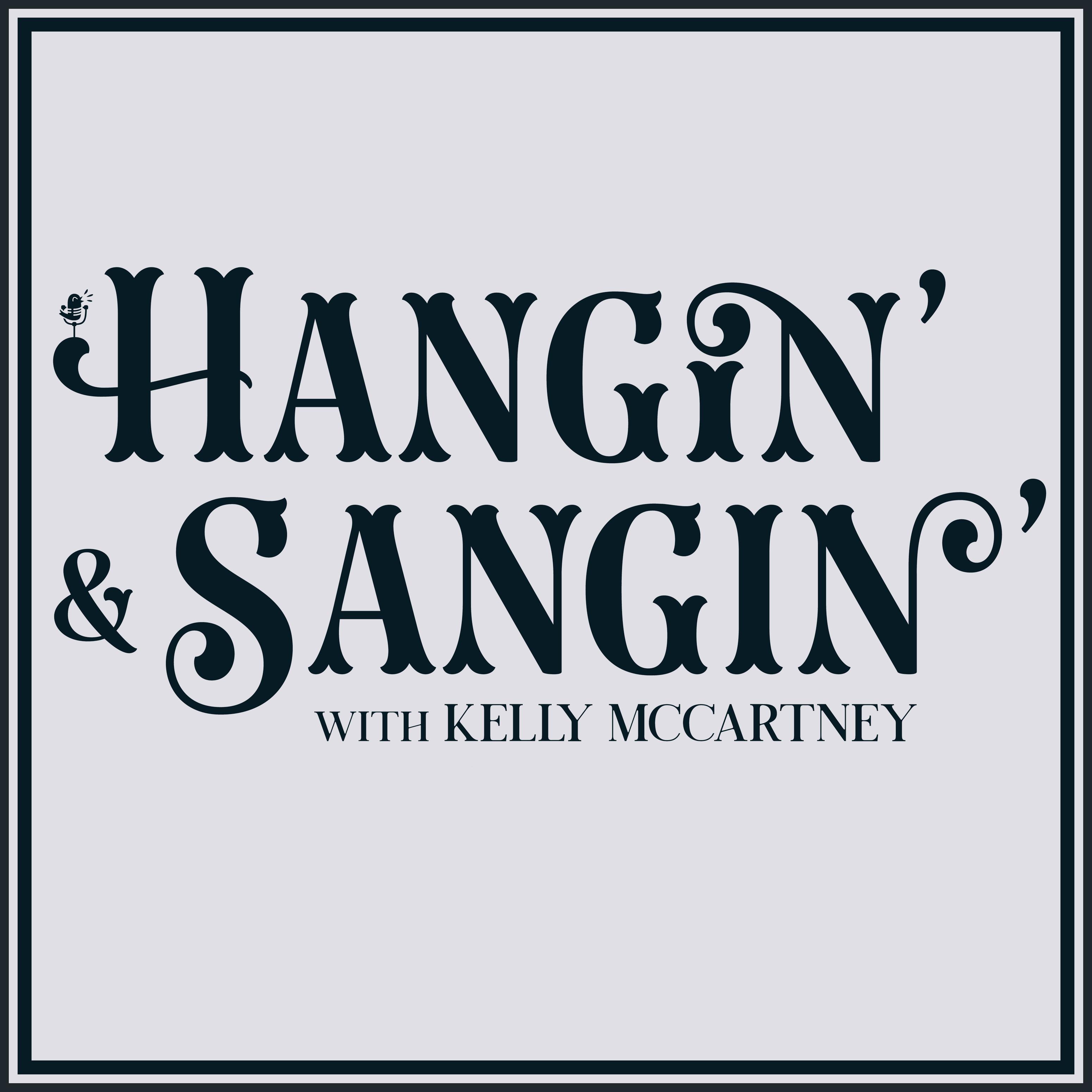 Hangin' & Sangin' show art