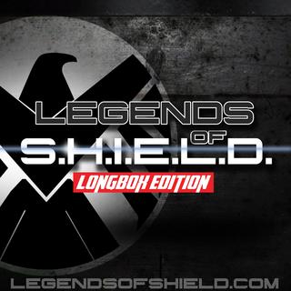 Artwork for Legends of S.H.I.E.L.D. Longbox Edition November 18th, 2015 (A Marvel Comic Book Podcast)