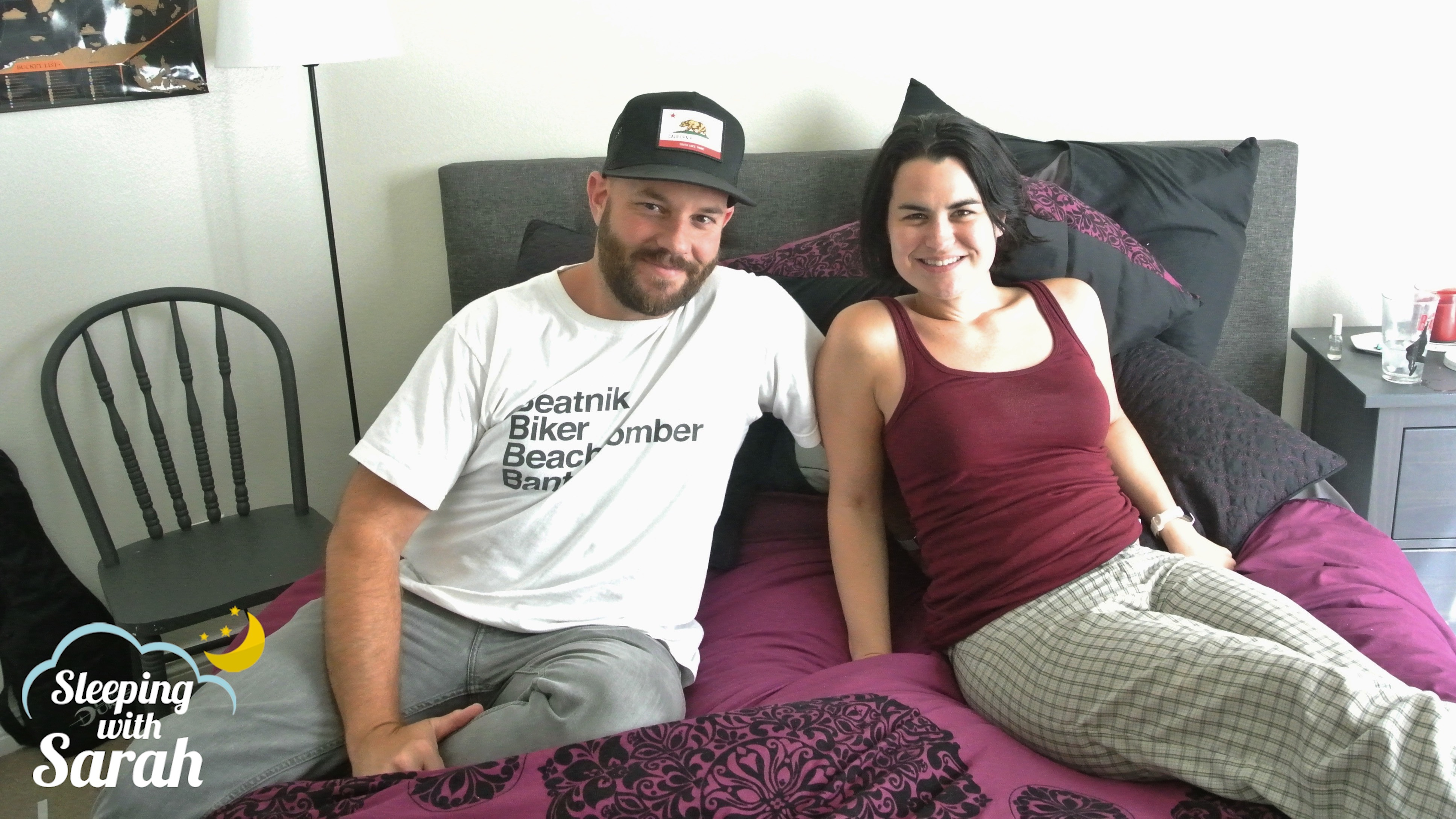 Ken Garr Sarah Albritton on Sleeping with Sarah podcast episode 89