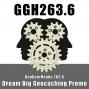 Artwork for GGH 263.6: Dream Big Geocaching Promo