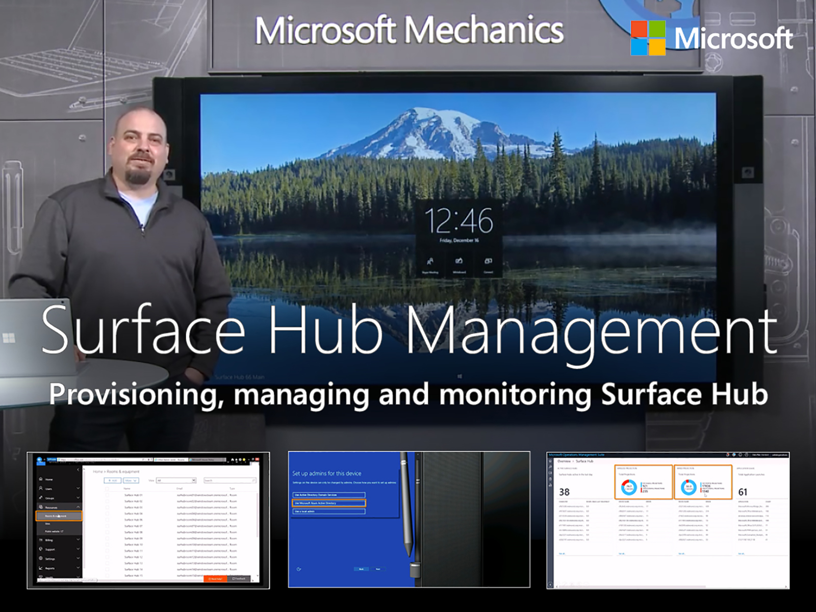 Artwork for An overview of Microsoft Surface Hub management