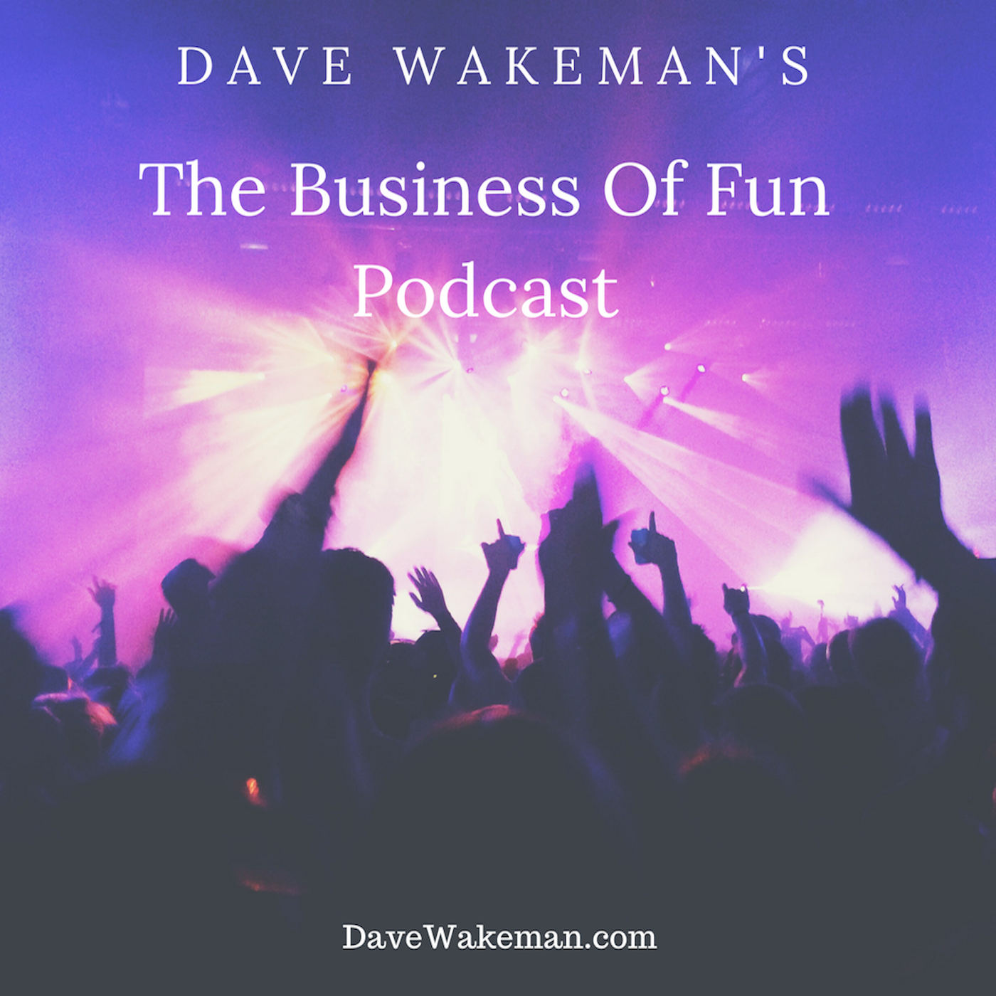 Dave Wakeman's The Business of Fun Podcast show art