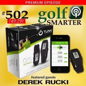 502 Premium: Power Up Your Game with TLink GPS Golf Watch